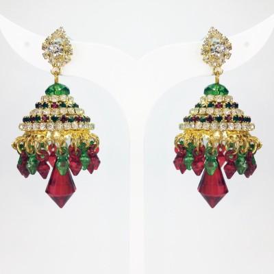 Fashion Max Ethnic Design Alloy Jhumki Earring