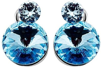 Ouxi Elements Crystal Zinc Stud Earring