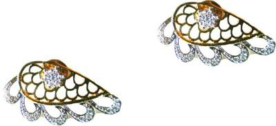 ZeyZes Waves Earcuff Brass Cuff Earring
