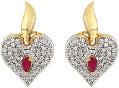 Aanjaneys Indian Ethnics Stylist Brass Drop Earring
