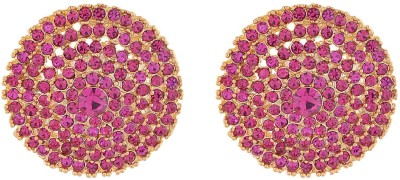 Ganapathy Gems Spring Sparkle Alloy Stud Earring