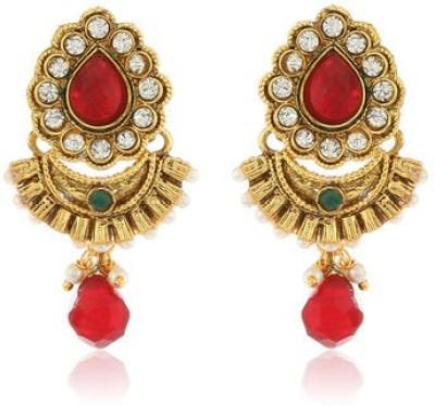 Ratnakar Ebony Copper Chandbali Earring