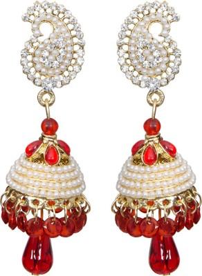 Mitthi Jewels Party Wear Alloy Chandbali Earring, Jhumki Earring