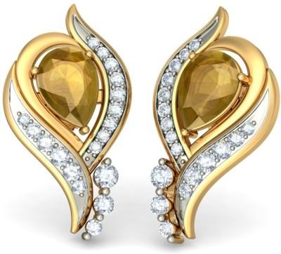Joyra Radiant Swarovski Zirconia Sterling Silver Stud Earring