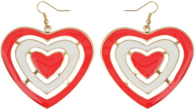 Taj Pearl Stylish Alloy Dangle Earring