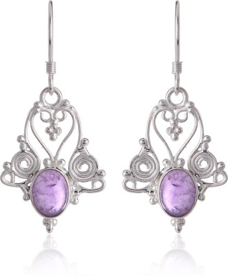 Thingalicious Delicate Amethyst Alloy Dangle Earring