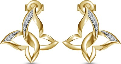 Kirati Butterfly Shape Cubic Zirconia Sterling Silver Stud Earring available at Flipkart for Rs.2130