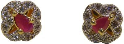 Aakhya EAR4 R Diamond Rose Gold Stud Earring
