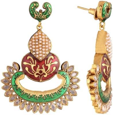 Panini F_270 Copper Chandbali Earring