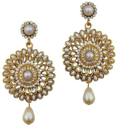Chrishan pearl Alloy Drop Earring
