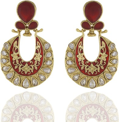 Chaahat Fashion Jewellery Fashion Copper Chandbali Earring