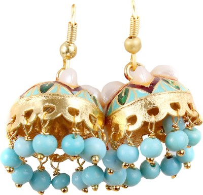 99HomeMart Sky cloud Pearl Alloy Jhumki Earring