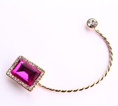 Bellofox Shimmer Misa Square Alloy Cuff Earring
