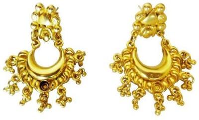 Pinak GPES201 Metal Chandbali Earring
