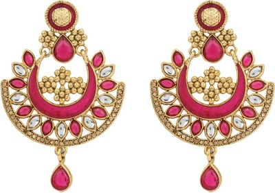 R18Jewels-Fashion&U Kundan Princess_Sonakshi Metal Chandbali Earring