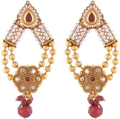 Dhasoomaal Dm140 Copper Drop Earring