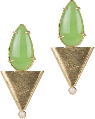 Mehtaphor Ruhi_2 Brass Stud Earring