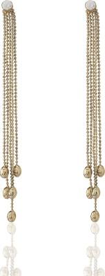Castle Street Gold Starlet Alloy Tassel Earring