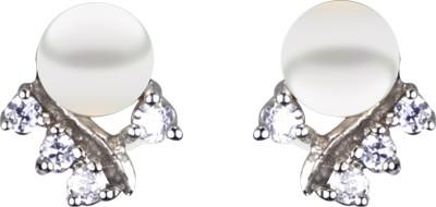 Pearl Paradise Moonlight Pearl Alloy Stud Earring