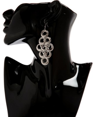 CreateAwitty INC. Jump Ring Design Alloy Tassel Earring