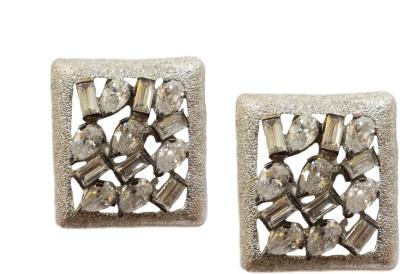 Jalparee Wardrobe friendly Silver Alloy Stud Earring