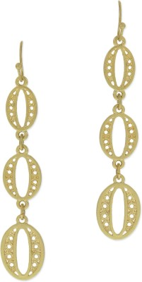 Fabula Gold Jewellery for Women & Girls Metal Dangle Earring