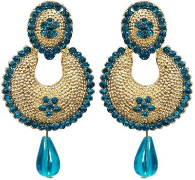 Jewels Guru NEW LOOK Zircon Alloy Chandelier Earring