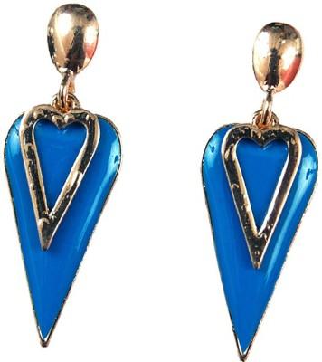 Uzuri Style Diva Copper Drop Earring