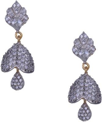 Mahaveer Pearls Dazzling New Brass Jhumki Earring