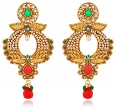 Rooh Jewellery Topped Copper Dangle Earring