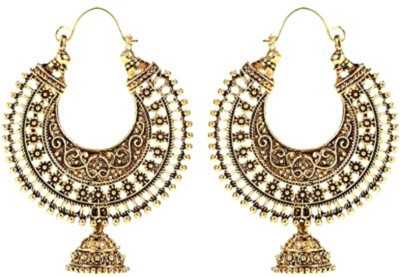 Kesari Copper-Beauty Alloy Hoop Earring