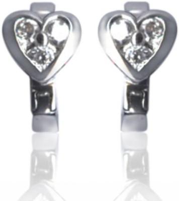 Treta Heart Shape Stud Sterling Silver Stud Earring