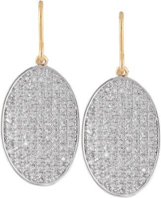 Varaagk Spring Sparkle Brass Dangle Earring