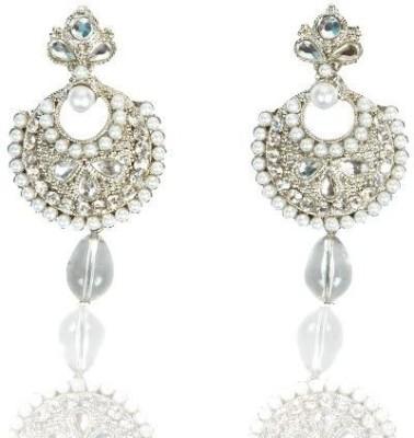 Rashi Jewellery Gorgeous Kundan Brass Drop Earring