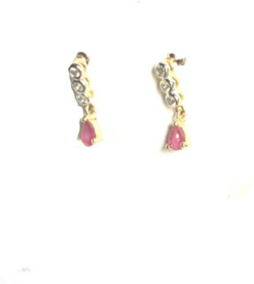 Chooz Designer Studio Fashion Gold plated Alloy Drop Earring