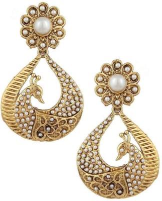 Jewels Guru embedd 09 Copper Chandelier Earring