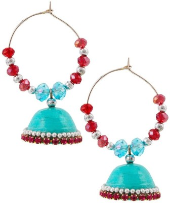 Halowishes Beautiful Hancrafted Baali Jhumka Paper Clip-on Earring