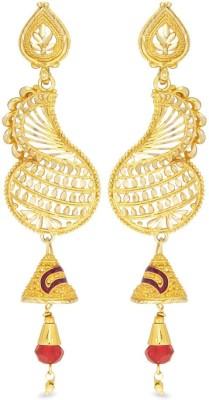 Big Tree Indian Charm Brass Jhumki Earring