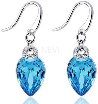 Nevi Beaded Party Fashion Crystal, Swarovski Crystal Metal, Crystal Dangle Earring