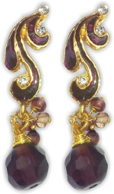 Royalminchem Spring Sparkle Brass Drop Earring