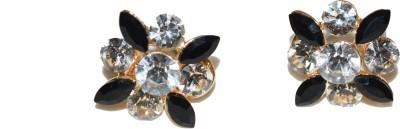 GJT BLACK BEAUTY Crystal Stud Earring
