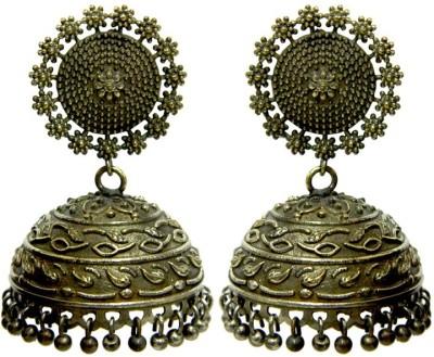 Peora Antique Alloy Jhumki Earring
