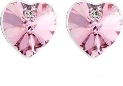 Ouxi Swarovski Crystal Zinc Stud Earring