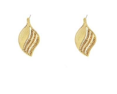 Art Nouveau Antique & Traditional Brass Chandelier Earring