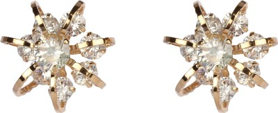 Divitha Allure Crystal star glass stone metal studs for the diva in you. Alloy Stud Earring