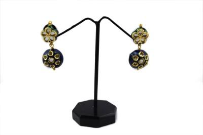 Bharat Sales antique Shining Diva Latest Designer Cubic Zirconia Alloy Drop Earring