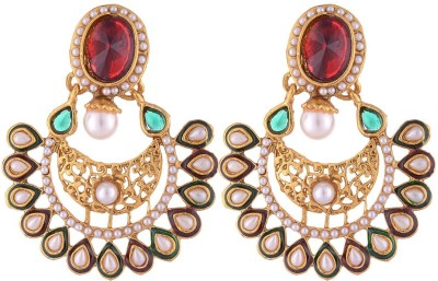 Shourya Fashion Ear Alloy Chandbali Earring