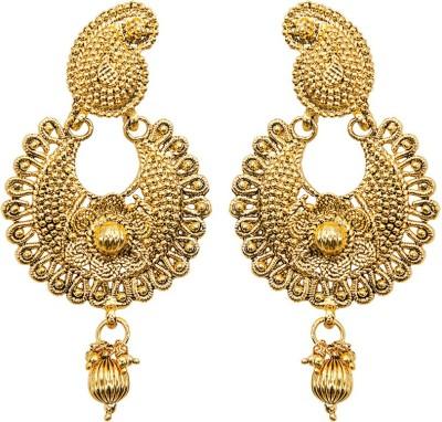 Grand Jewels Gold Polish Alloy Huggie Earring
