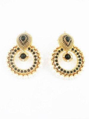 Swetha Antique Traditional Copper Drop Earring