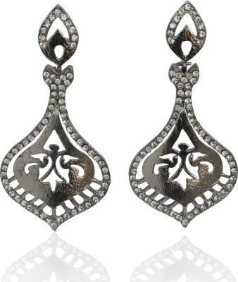 Touchstone Metal Dangle Earring